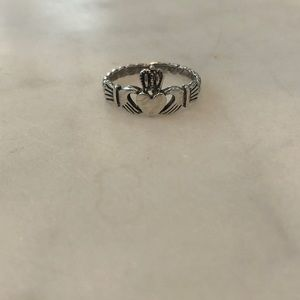 Jewelry - Sterling silver Irish Claddagh ring